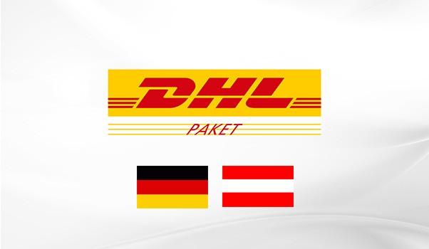 Zustellung durch DHL nach Deutschland und Österreich